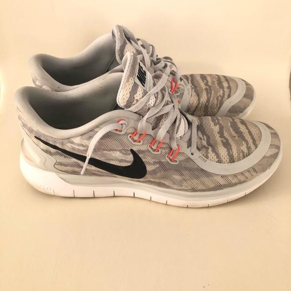 Mens Nike Free Run 5 Camouflage Sneaker